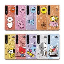 bt21,hang out graphic light up phone case,iphone