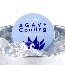 petitfee,agave cooling hydrogel eye mask