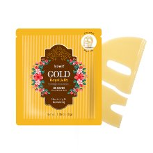 koelf,gold and royal jelly hydro gel mask pack