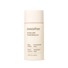 innisfree,simple label tinted moisturizer